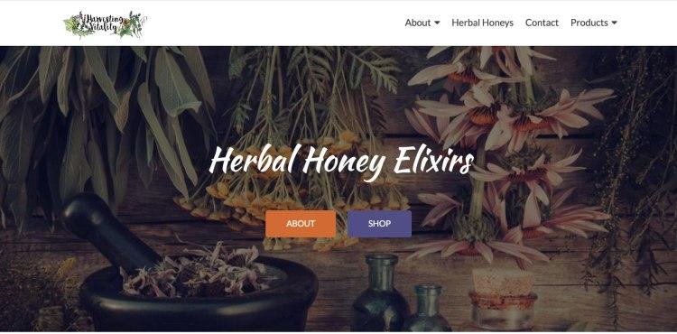 Harvesting Vitality Homepage