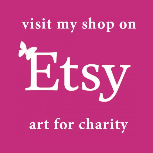 Visit Rachel Rose Studios on Etsy. Buy art for charity.