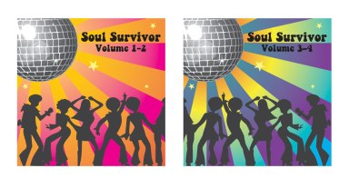 CD Covers. Program Used: Illustrator.