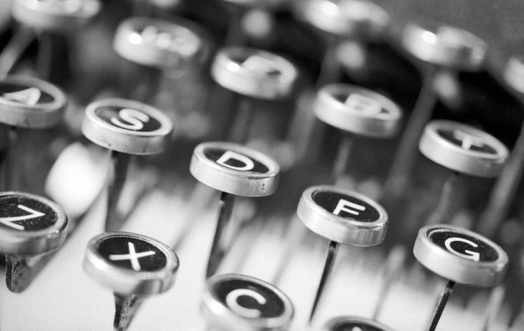 Typewriter keys—photo by Peter Lewicki on Unsplash